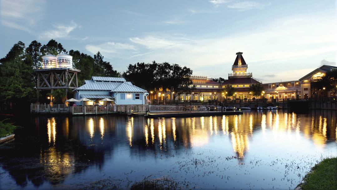 Disneys Port Orleans Resort - Riverside