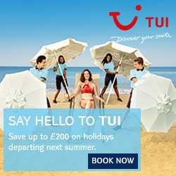 Tui holiday deals summer 2018 2019 skytours small and for Small and friendly holidays